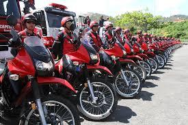Así como también vehículos y motos para atender de forma mas rápida y eficaz las emergencias
